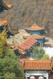 Templo Jing en la ciudad china de Dunhua Foto de archivo libre de regalías