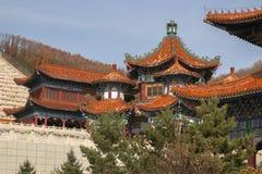 Templo Jing en la ciudad china de Dunhua Foto de archivo