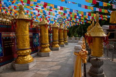 Templo Jinyu Guanyin de Sanya Nanshan Buddhist Imagen de archivo libre de regalías