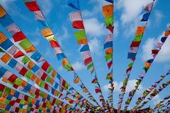 Templo Jinyu Guanyin de Sanya Nanshan Buddhist Imagens de Stock Royalty Free