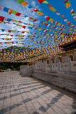 Templo Jinyu Guanyin de Sanya Nanshan Buddhist Foto de Stock Royalty Free