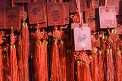 Templo justo por Año Nuevo en Pekín Imágenes de archivo libres de regalías