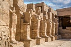 Templo Karnak foto de stock