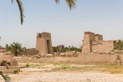 Templo Karnak na cidade antiga de Thebes, Luxor, Egito foto de stock