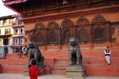 Templo Katmandu imágenes de archivo libres de regalías