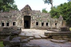 Templo khan de Preah, angkor, Camboya Fotografía de archivo
