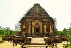 Templo Konark de Sun Fotos de archivo libres de regalías