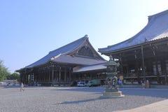 Templo Kyoto Japón de Nishi Honganji fotografía de archivo libre de regalías