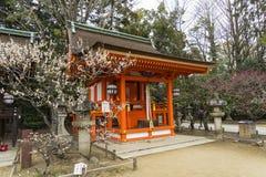 Templo Kyoto Japón del tenmangu de Kitano Foto de archivo