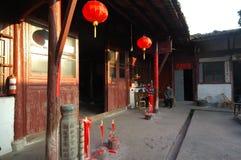 Templo leitoso de Tian fotografia de stock