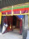 Templo Lhasa Tibet de Jokhang imagem de stock royalty free