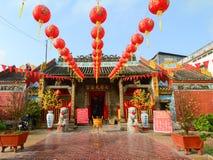 Templo local en Saigon Foto de archivo libre de regalías