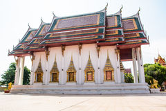 Templo local tailandés Fotografía de archivo