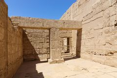 Templo Luxor - Egito imagens de stock royalty free
