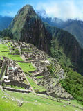 Templo Machu complexo Picchu em Peru Fotos de Stock
