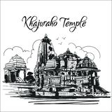 Templo Madhya Pradesh la India de Khajuraho libre illustration