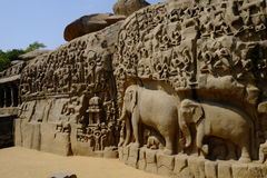 Templo Mahabalipuram Fotografia de Stock Royalty Free