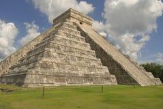 Templo maia de Kukulcan imagens de stock