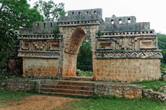 Templo maia em Labna Imagens de Stock Royalty Free