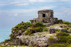 Templo maia Imagem de Stock