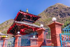 Templo Mandir de Supa Deurali, Nepal Imagem de Stock