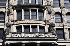 Templo masónico Foto de archivo