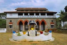 Templo masónico Imagen de archivo libre de regalías