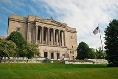 Templo masónico americano Imágenes de archivo libres de regalías
