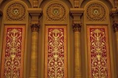 Templo masónico de Philadelphia Imágenes de archivo libres de regalías