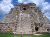 Templo maya Imagen de archivo libre de regalías