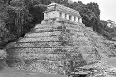 Templo maya del calakmul Fotografía de archivo libre de regalías