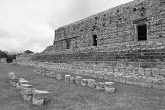 Templo maya del palenque Imagen de archivo