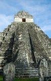 Templo maya en Guatemala Fotos de archivo
