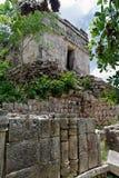 Templo maya en Kabah Foto de archivo libre de regalías