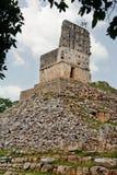 Templo maya en Labna Imagen de archivo libre de regalías