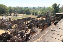 Templo Mebon del este en Camboya Fotografía de archivo