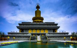 Templo moderno Foto de archivo libre de regalías