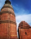 Templo mohan de Madan, vrindavan Foto de archivo libre de regalías