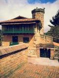 Templo Monserrate Kolumbien stockbilder
