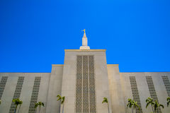 Templo mormón California de Los Ángeles LDS fotografía de archivo libre de regalías