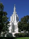 Templo mormónico Fotos de archivo libres de regalías