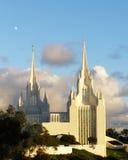 Templo mormónico Foto de archivo