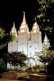 Templo mormónico Fotos de archivo