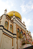 Templo muçulmano fotografia de stock