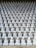 Templo MU-ryang Sa de Ji Jang Bosal Garden imagen de archivo libre de regalías
