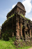 Templo Myson Vietnam de la torre Imagen de archivo