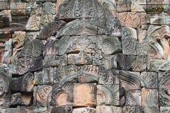 Templo na beira de Cambodia. imagens de stock royalty free