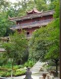 Templo na cidade de Guiyang, China Imagens de Stock Royalty Free