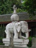 Templo na cidade de Guiyang, China Fotografia de Stock Royalty Free