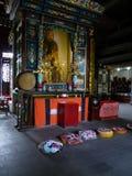 Templo na cidade de Guiyang, China Foto de Stock Royalty Free